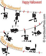 Vector Halloween background.