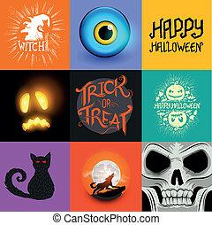 Vector Halloween Collection