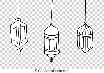 Hand Draw sketch of Lantern