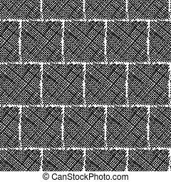 Vector Hand Drawn Seamless Pattern