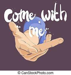 vector hand gesture - vector illustration of hand gesture...