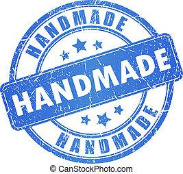 Vector handmade stamp