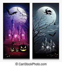Vector Happy Halloween collections