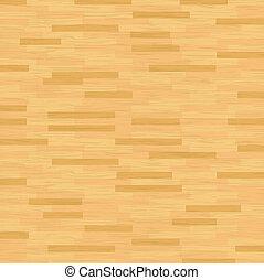 Vector Hardwood Floor - A vector illustration of hardwood...