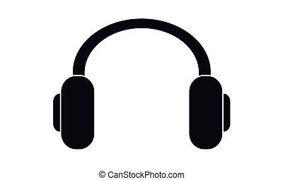 Vector - Headphones - Vektor - Kopfhoerer - Icon, Symbol,...