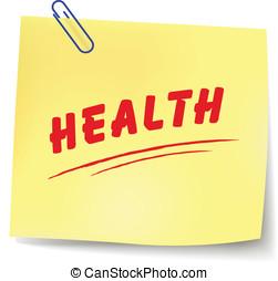 Vector health message
