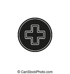 vector healthcare plus sign - medical cross symbol