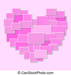 Vector Heart Frame