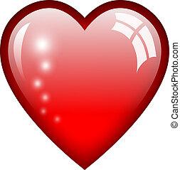 Vector heart illustration