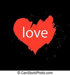 Vector heart logo