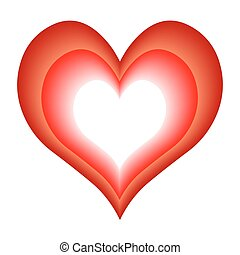 vector heart - symbol of love