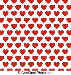 vector heart Valentines day pattern background
