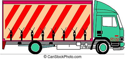 Vector Heavy Truck