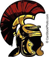 Vector helmet illustration