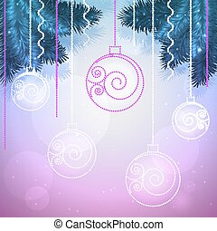 Vector holiday background