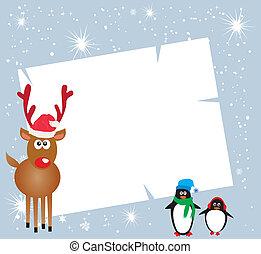 holiday card - vector holiday card