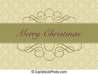 Vector Holiday Gold Background