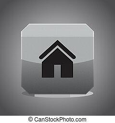 Vector home button
