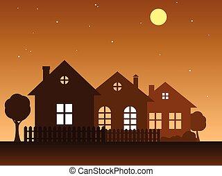 vector, home., illustratie