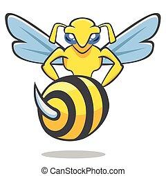 vector, hornet
