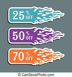 Vector hot sale labels