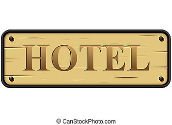 Hotel Sign Vector Clip Art EPS Images 36221 Clipart