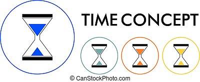 vector - hourglass