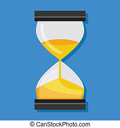Vector Hourglass Icon