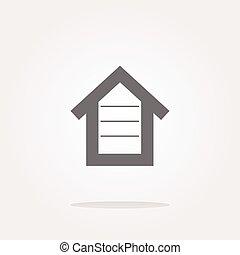 vector house button, button signs, web icon