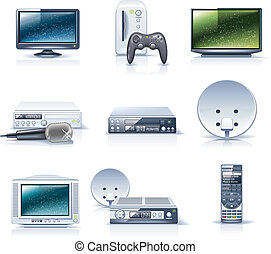 Vector household appliances. P.6