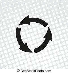 vector icon arrow circle