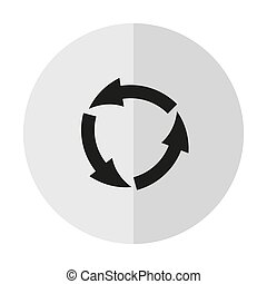 vector icon arrow circle