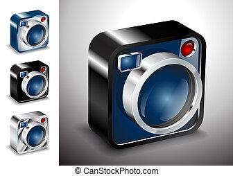 icon button camera photo lens multimedia