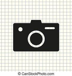 Vector icon camera