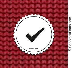 vector icon check mark