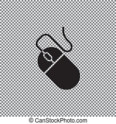 Vector icon computer mouse