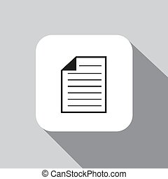 vector icon document