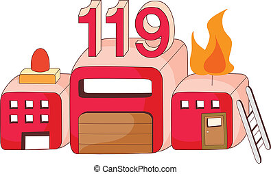 firehouse vector clip art eps images you ll love 136 firehouse rh canstockphoto com