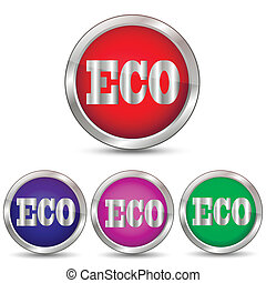 vector icon eco