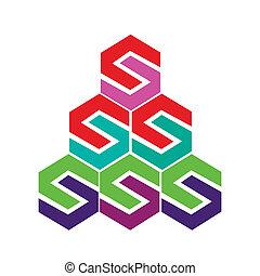Vector icon logo