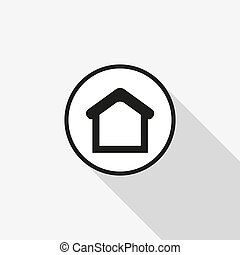 vector icon of house