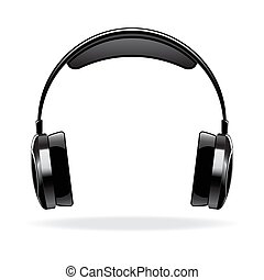 Vector icon of the headphones