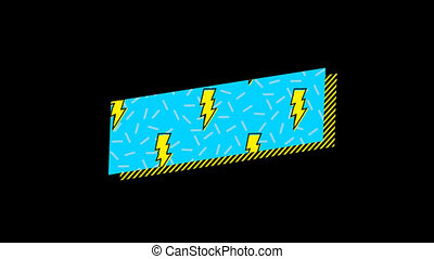 Vector icon of thunderstorm 4k - Vector icon of thunderstorm...