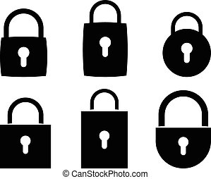 Vector icon padlock