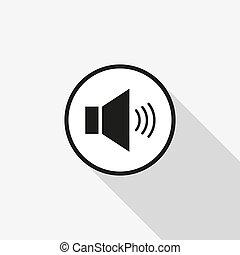 Vector icon sound