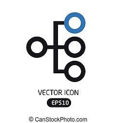 Vector Iconhierarchy