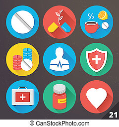 Vector Icons for Web. Set 21.