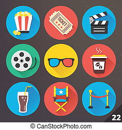 Vector Icons for Web. Set 22.