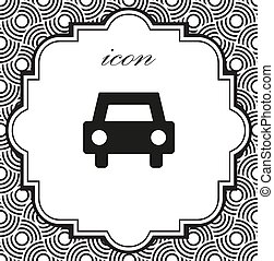vector icons of car