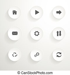 Vector Icons set.